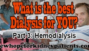 Treatment Options for Kidney Patients: Hemodialysis