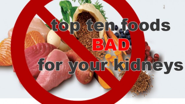 Ten Foods Eat Everyday Damaging Kidneys