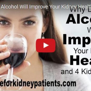 Drinking Alcohol for Kidney Health