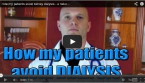 avoid kidney dialysis